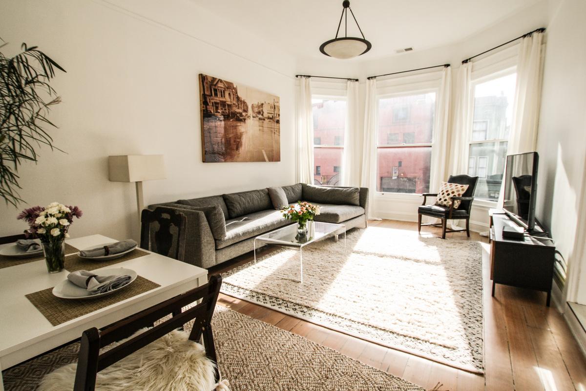 NOPA Victorian Apartment - San Francisco Corporate Rentals